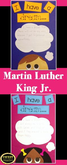 Simple craft for my first graders after we learn about Martin Luther King Jr - will make an amazing bulletin board! $4