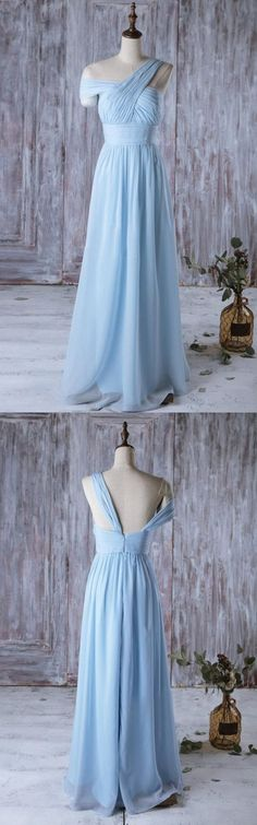 sky blue bridesmaid dress, 2017 bridesmaid dress, long bridesmaid dress, wedding party dress