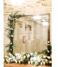 cool vancouver florist In love with this photo taken by @vasiaphotography for Kelly and Kyle's summer wedding. Styled and planned by @countdownevents . We love designing florals for this floor to ceciling mirror used as the table seating chart. It was incredible watching @hellomaurelle hand calligraphy this mirror for more than 4 hours. Thanks to our bride and groom . Thanks to Soha...