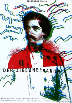 Der Zigeunerbaron by Geissbuhler, K. Domenic | Shop original vintage #posters online: www.internationalposter.com