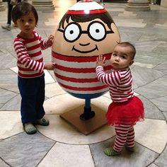 Martin Hanford Where's Waldo Egg from #thebigegghuntny