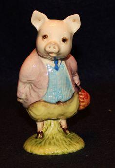Beswick England Beatrix Potter Pigling Bland Figurine