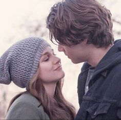If i stay movie outfit chloe grace moretz grey hat If I Stay Movie, I Movie, Movie Scene, Movie Couples, Cute Couples, Movie Sites, A Writer's Life, Chloe Grace Moretz, Romantic Movies