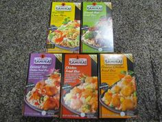 Mommy's Favorite Things: Simmering Samurai Review & Giveaway 3 coupons for 3 free products