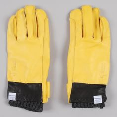 Norse Projects Norse x Hestra Ivar Glove - Yellow