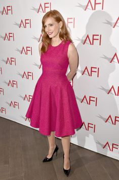 Jessica Chastain Photos: Arrivals at the 15th Annual AFI Awards