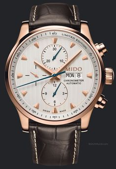 Mido - Multifort Limited Edition Heritage. A precision timepiece of rare elegance to celebrate the Multifort's 80th anniversary