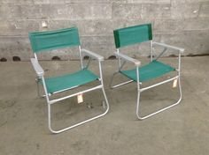 Perfect For Our Summer House Warming!!!! Pair of Vintage Aluminum Lawn Chairs | Second Use, Seattle: Building Materials, Salvage, & Deconstruction