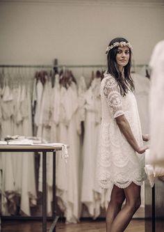 Vestido de novia cortos #bodacivil #novios #boda #vivalosnovios #novia #detalles #vestidocorto #noviadecorto