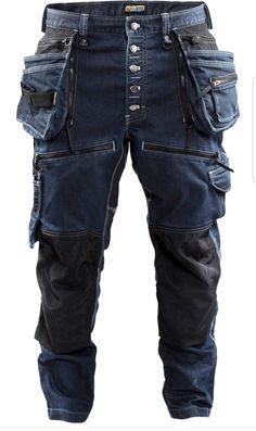 Mens Work Pants, Work Trousers, Tactical Pants, Tactical Clothing, Vetement Hip Hop, Fashion Pants, Fashion Outfits, Outdoor Pants, Denim Jeans Men