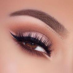These false lashes are soooo fluffy! #wedding #perfect #makeup #eyelashes #bridal