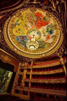Marc Chagall, Opera House, Paris