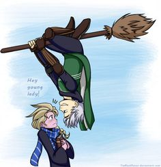 More Jelsa/HP crossover goodness!
