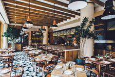 Chef Laurent Tourondel's Latest New York City Restaurant, L'Amico | Architectural Digest