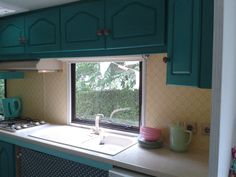 Caravan kitchen (almost finished) # 21th June 2015