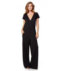 Tee Dress Surplice Jumpsuit - New Arrivals   Michael Stars