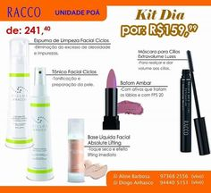 Especial dia das Mães – Limpeza facial – Linha Ciclo – Racco Cosméticos #Publi