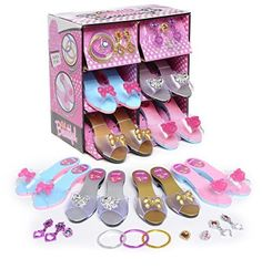 Princess Dress Up and Play Shoe Jewelry Boutique (set Includes Pink/Gold for sale online Little Girl Toys, Baby Girl Toys, Toys For Girls, Kids Toys, Disney Princess Dress Up, Little Princess, Princess Shoes, Dress Up Shoes, 4 Year Old Girl