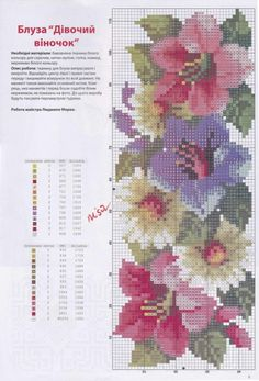 Gallery.ru / Фото #5 - a1 - kento 123 Cross Stitch, Cross Stitch Needles, Cross Stitch Borders, Cross Stitch Flowers, Counted Cross Stitch Patterns, Cross Stitch Charts, Cross Stitch Designs, Cross Stitching, Cross Stitch Embroidery