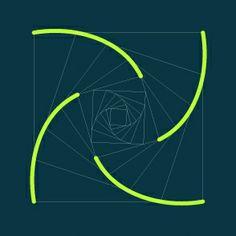 pólvora em bits: Padrões geométricos com splines - 4