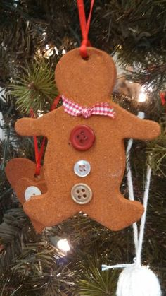 Homemade cinnamon ornaments <3