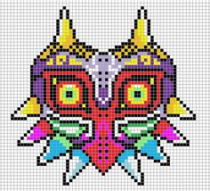 Majora's Mask hama perler design by Hama-Girl on deviantart