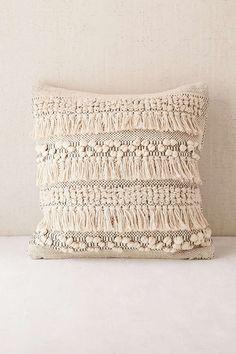 Anita Woven Shag Pillow