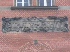 Am Landesarchiv NRW, Bohlweg. #Münster