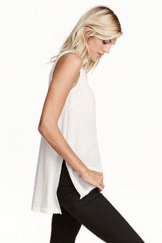 Blouse sans manches | H&M