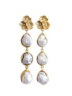 Geek Jewelry, Pearl Jewelry, Beaded Jewelry, Silver Jewelry, Fine Jewelry, Tiny Stud Earrings, Boho Earrings, Pearl Earrings, Vintage Earrings