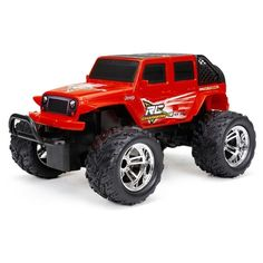 NEW BRIGHT Jeep Wrangler rot, RC