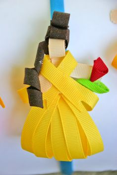 Grosgrain: Day 7: Belle Inspired Disney Ribbon Sculpture Pattern