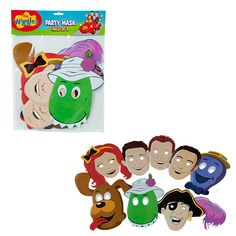 Wiggles Party Masks Pack FOR PHOTOBOOTH!
