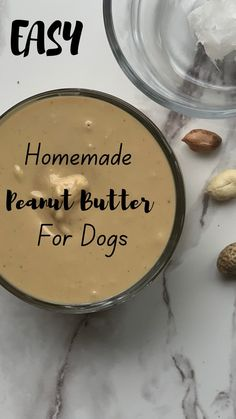 Homemade Peanut Butter For Dogs: Easy Recipe! - Simply Droolicious