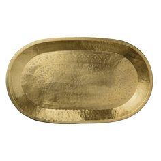 Discover the Day Birger Et Mikkelsen Carved Brass Deco Tray at Amara