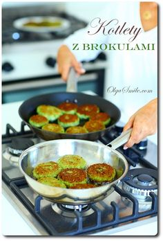 Kotlety z brokułów Broccoli Balls Recipe, Vegetarian Recipes, Snack Recipes, Snacks, Fritters, Tofu, Food And Drink, Lunch, Meals