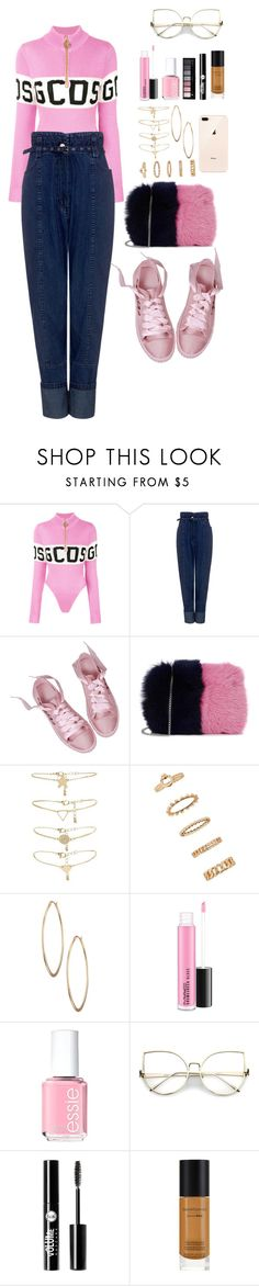 """""""Untitled #2864"""" by mrkr-lawson ❤ liked on Polyvore featuring GCDS, Rachel Comey, Loeffler Randall, Forever 21, Lydell NYC, Essie, Charlotte Russe and Bare Escentuals"""