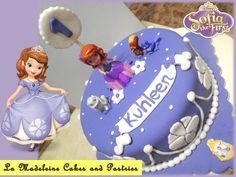Kuhleen's Sofia the First Cake
