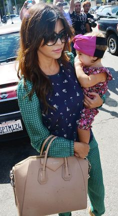 Kourtney Kardashian At Dash Store with Penelope Disick
