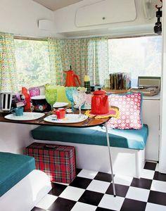 caravan cute~ retro-campers-glamping-love