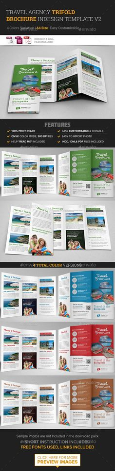 Travel Guide Book Template for Indesign CS4 or LaterCreate your next - sample instruction manual template