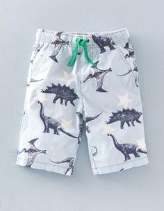 Cloud Dinosaur Printed Shorts | Mini Boden