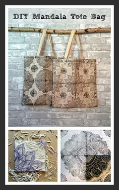 Click for the DIY on these adorable tote bags! They were made with hand carved blocks and permanent pigment ink. What an awesome gift for you or someone you love!