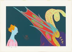 Available for sale from Galerie Hans Mayer, Andy Warhol, Details of Renaissance Paintings (Paolo Ucello, St. George and the Dragon Silkscree… Andy Warhol Pop Art, Renaissance Paintings, High Art, Art World, Screen Printing, Modern Art, Moose Art, Prints, Moma