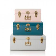 Metal Storage Suitcase | New | Oliver Bonas