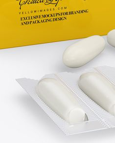 Download Suppositories PSD Mockup Templates