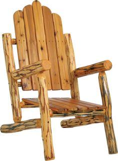 Log Chair More