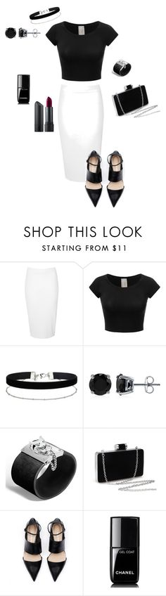 """Untitled #19"" by jacqueline-montelongo-trevino on Polyvore featuring Glamorous, Miss Selfridge, BERRICLE, John Hardy, Chanel and Bite"