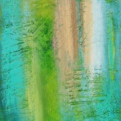 Contemporary Modern Art Textured Acrylic by avaavadonstudio, $165.00
