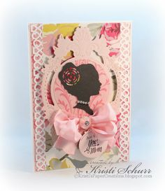 Kristi's Paper Creations: Cameo Mother's Day Cards